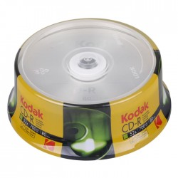 KODAK CD-R 52x 700MB 25-Pack