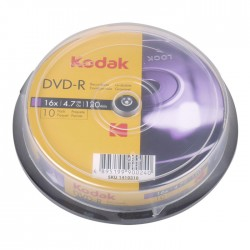 KODAK DVD-R 16x 4.7GB 10-Pack