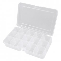 RND 550-00101 Assortment Box, 13, transparent 165 x 112 x 31 mm