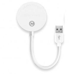Hub USB(HUB-4USB) 15CM White  WK WT-N2 Carbin