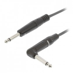 SWEEX SWOP 23005E 3.0 Mono Audio Cable 6.35 mm Male - 6.35 mm Male 3.0 m Dark Gr