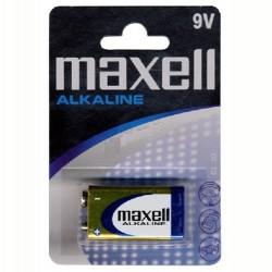 Αλκαλική Μπαταρία MAXELL 9V Blister 1 τεμ