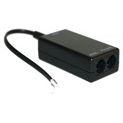 Power Tech ADSL splitter με φίλτρο για adsl2 + modem router & τηλ