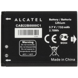 ALCATEL OT 2010 - ORIGINAL BATTERY 750mAh LI-ION, BULK