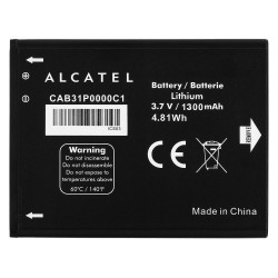 ALCATEL OT 990 - ORIGINAL BATTERY 1300mAh LI-ION, BULK
