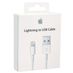 APPLE - ORIGINAL DATA CABLE LIGHTNING TO USB 2.0 ΛΕΥΚΟ 1m BLISTER