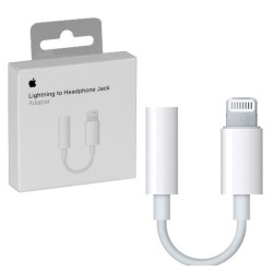 APPLE iPhone 7/7 Plus, 8/8 Plus, X - ORIGINAL ADAPTOR Lightning to 3,5mm BLISTER