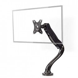 NEDIS MMNTSI100BK Desk Monitor Mount Single Monitor Arm Full Motion 10-32 ""