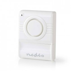 NEDIS ALRMGB10WT Glass Break Alarm Built-in Siren Adjustable Sensitivity