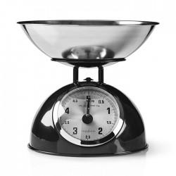 NEDIS KASC110BK Retro Kitchen Scales Analogue Metal Black