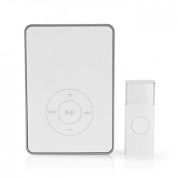 NEDIS DOORB113WT Wireless Doorbell Set Battery Powered MP3 Function