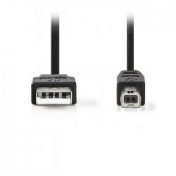 NEDIS CCGT60100BK30 USB 2.0 Cable A Male - USB-B Male 3.0 m Black