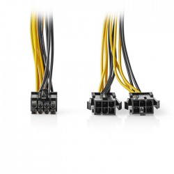 NEDIS CCGP74415VA015 Internal Power Cable EPS 8-pin Male-2x PCI Express Female 0