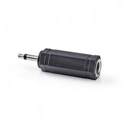 NEDIS CAGP22960BK Mono Audio Adapter 3.5 mm Male - 3.5 mm Female 10 pieces Black