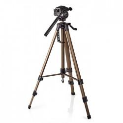 NEDIS TPOD2300BZ Tripod Pan & Tilt Max 3.5 kg 161 cm  Black/Silver