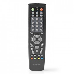 NEDIS TVRC2100BK Universal Remote Control Pre-programmed Control 10 Devices