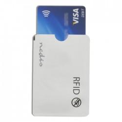 NEDIS PRIVRF10AL Protective RFID Sleeve 3 Cards capacity Alluminium Alloy