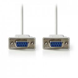NEDIS CCGP52055IV20 Null Modem Cable D-Sub 9-pin Female - D-Sub 9-pin Female 2.0