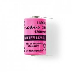 NEDIS BALTER14250U Lithium Thionyl Chloride Battery ER14250 3.6 V 1200 mAh