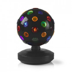 NEDIS FUDI213BK Multi-Colour Disco Ball 6 W 550 lm 20 cm