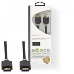NEDIS CVBW34000AT05 High Speed HDMI Cable with Ethernet HDMI Connector-HDMI Conn