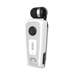 UNIVERSAL VIBRATION RETRACTABLE BLUETOOTH WHITE