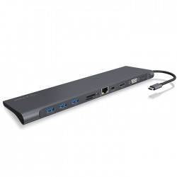 ICY BOX IB-DK2102-C USB Type-C DockingStation with a triple video output