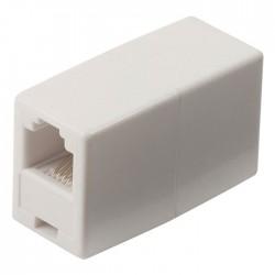 NEDIS TCGP90920WT Telecom Coupler RJ11 Female-RJ11 Female White