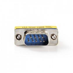 NEDIS CCGP52811ME D-Sub Coupler D-Sub 9-Pin Male - D-Sub 9-Pin Male Metal