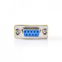 NEDIS CCGP52810ME D-Sub Coupler D-Sub 9-Pin Female - D-Sub 9-Pin Female Metal
