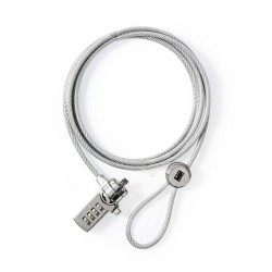 NEDIS NBLKD100ME Notebook Lock Digit 1.8 m Silver