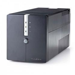NEDIS UPSD1000VBK Uninterruptible Power Supply 1000 VA 600 W 4 Sockets