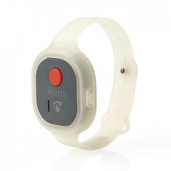 NEDIS ALRMPW20AT Personal Safety Alarm Waterproof Wrist Band Design = 85dB Alarm