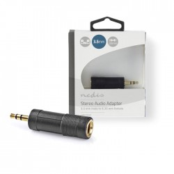 NEDIS CABW22935AT Stereo Audio Adapter 3.5 mm Male - 6.35 mm Female