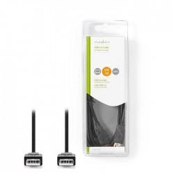 NEDIS CCGB60000BK20 USB 2.0 Cable A Male - A Male 2.0 m Black