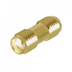 NEDIS CSGP02940GD SMA Adapter SMA Female - SMA Female 2 pieces Gold